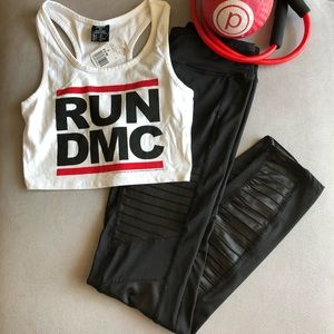 Run DMC crop top
